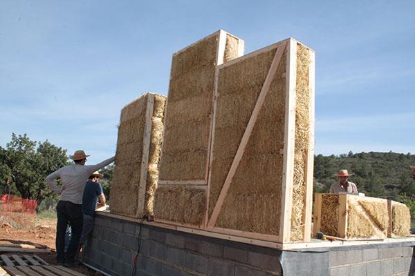 Alfawall paneles prefabricados de paja - Locales prefabricados ...