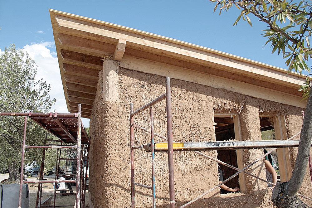 Construcci n con balas de paja ibi alicante - Materiales de construccion en alicante ...